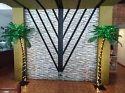 7ft Artificial Palm Tree 96led-lights Home Decorparty Christmas Outdoor Patio