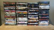 113 Lot Of Used 1990s 2000s Dvds