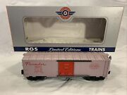 Lionel Rgs Custom Made Red Door Nyc Pacemaker Boxcar 6464-125 O Gauge New