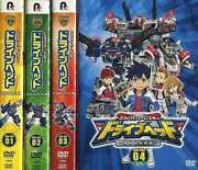 Anime Dvd Tomica Hyper Rescue Drive Head Mobile Emergency Police Dvd-box All