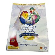 Winnie The Pooh Seasons Of Giving 10th Anniversary Dvd Collectible Stocking New