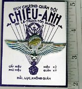Vietnamese Master Parachutist Wing On Store Card - No Marks - Clutches