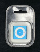 Apple Ipod Me130ll/a Shuffle 4th Generation Blue A1373 2gb New Factory Sealed