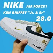 Nike Air Force 1 Ken Griffey Jr. White Shoes New Us10 Authentic From Japan