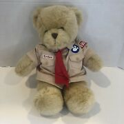 Build A Bear Workshop Boy Scout Plush Teddy Bear With Shirt And Tie 14