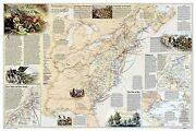 Battles Of The Revolutionary War And War Of 1812 Wall Maps History And Nature...