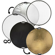 New Sealed Genuine Retail / Impact 5-in-1 Collapsible Circular Reflector Disc 42