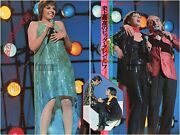 Liza Minnelli Charles Aznabour On Stage 1974 Japan Clippings 2-sheets Se/z