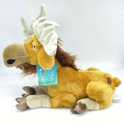 """Disney Store Brother Bear 16"""" Rutt Moose Plush Toy Retired Posable Antlers Clean"""