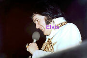 Elvis Presley In Mexican Sundial Suit Tcb Ring Largo Md 5/22/77 Photo Candid 3