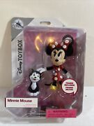 Disney Mickey Mouse Toybox Minnie Mouse And Figaro Exclusive Action Figure Rare