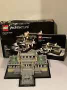 Lego Architecture Imperial Hotel 21017 100 Complete W/ Manual - Damaged Box
