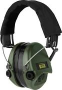 Sordin Supreme Pro X - Active Electronic Hearing Protection With Gel Seals -