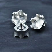 Stainless Steel Tripod Stand Crown Spike For Gitzo Gt1531 Gt2541/trrs/benro 3/8