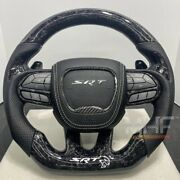 2015-2021 Dodge Hellcat Forged Carbon Steering Wheel Durango Charger Challenger