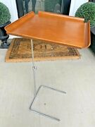 Mcm George Nelson Side Tray Table/ Herman Miller W Cerificate Of Authenticity