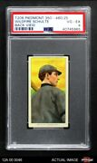 1909 T206 Wildfire Schulte Back View Cubs Psa 4 - Vg/ex