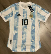 Lionel Messi Argentina Copa America Player Jersey Size Large