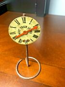 Lionel Ives Depot Clock Next Train Leaves Sign 100 Original 1920and039s