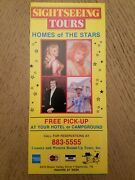 1986 10 Sightseeing Bus Tours Stars Homes Brochure Nashville Tennessee Opryland