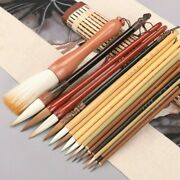 16pcs Set Chinese Calligraphy Painting Brush Pens Multiple Weasel Woolen Hairs