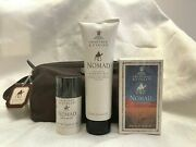 Crabtree And Evelyn Nomad Eau De Toilette 3.4oz Hair And Body Wash Deodorant Rare