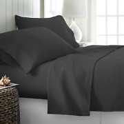 Comfy Sheets Luxury 100 Egyptian Cotton - Genuine 1000 Thread Count 4 Piece She