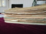 1850and039s-1903 500+ Huge Checksbondsgraphicsstamps100and039s Of Signatures Lot