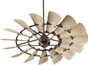 Quorum International 96015 Bronze 60 15 Blade Ceiling Fan With Wall Control
