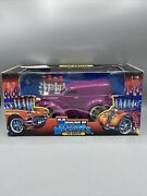 Muscle Machines 1/18 Purple 1948 Ford Anglia Hot Rod Diecast Model Car