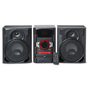 New Home Audio System Shelf Stereo Bluetooth 100w Cd Usb Boombox With Remote