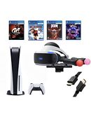 Ps5- Sony Playstation 5 Console Disk And Playstation Vr Bundle
