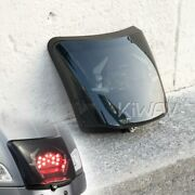 Kiwav Smoked License Plate Light With Black Bezel Fits Vespa Gts Gtv And03914-later