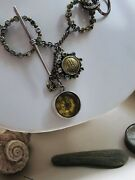 Echo Of The Dreamer-mars And Valentine, Nautical Vintage Compass Necklace.