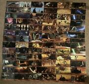 Star Wars Topps Widevision Trading Full Comp