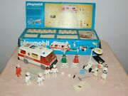 Vintage Toy 1977 Schaper Playmobil System Doctor And Nurse Deluxe Set In Box