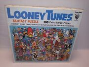 Whitman Looney Tunes Fantasy 300 Pc Jigsaw Puzzle - Complete - Warner Bros