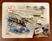 Rusty Wallace 2 Collectible 3 Ornaments Gift Set Sealed