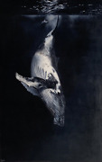 In The Deep Blue Sea - Oil Painting On Canvas