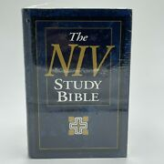 The Niv Study Bible Personal Size 1995 Hardcover New International Version