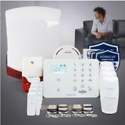 Homsecur Wireless Wcdma/gsm Home Security Alarm System With Wireless Flash Siren