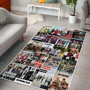 Anniversary One Direction Style 2 Collection Gift For Fan Area Rug Any Room