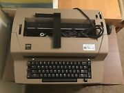 Ibm Selectric Iii Typewriter W/self Correction Key/protective Cover Broken Parts