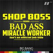 Auto Repair Mechanic Sticker Window Decal Shop Business Owner Funny