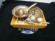 Sterling Silver Scrap Lot Spoon And Bracelet Under Melt/free Shipping