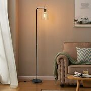 Tall Led Floor Lamp Included Bulb Acaxin Modern Standing Lamp With Hanging