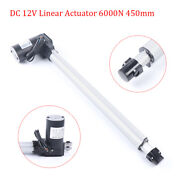 18inch Linear Actuator Stroke 1320 Pound Max Lift 12v Volt Dc Electric Motor New