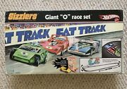 Hot Wheels Sizzlers Giant O Fat Track Race Set New Old Stock Sealed Vintage