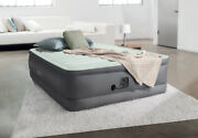 Intex 18in Full Dura-beam Premaire I Elevated Airbed With Internal Pump New