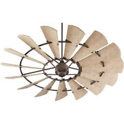 Quorum International 197215 Bronze 72 15 Blade Ceiling Fan With Wall Control